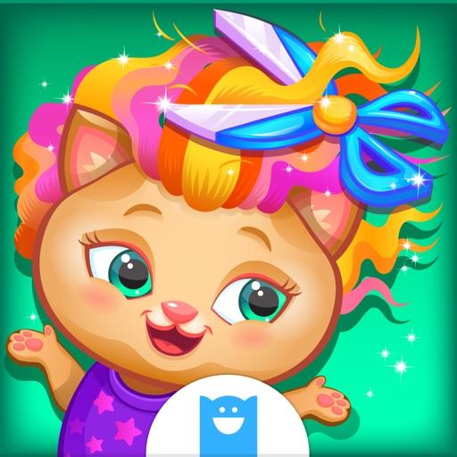 Pets Hair Salon - игры про макияж для детей