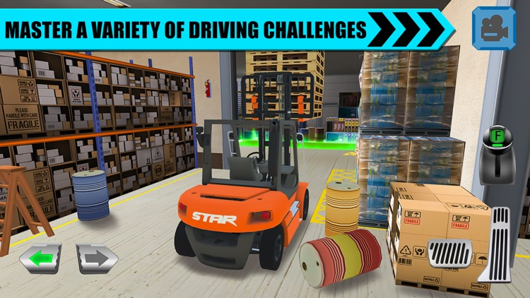 Truck Driver: Depot Parking