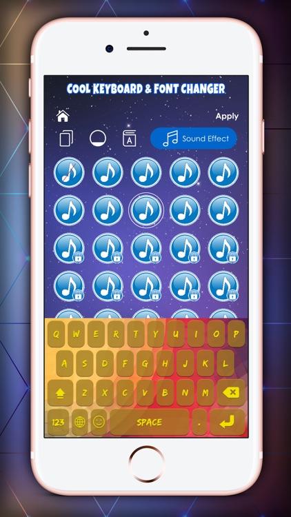 Cool Keyboard & Font Changer screenshot-3