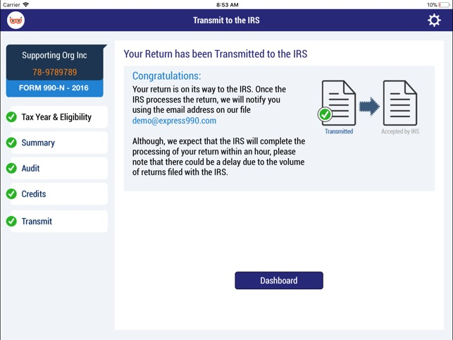 Taxbandits E File Form 990 N On The App Store