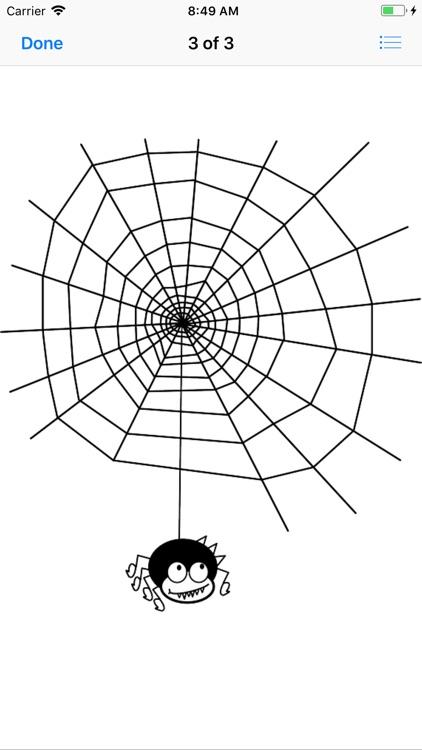My Spiderweb Sticker Pack screenshot-3