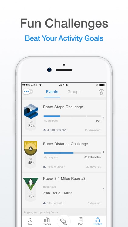 Pacer: Pedometer & Walking App screenshot-4
