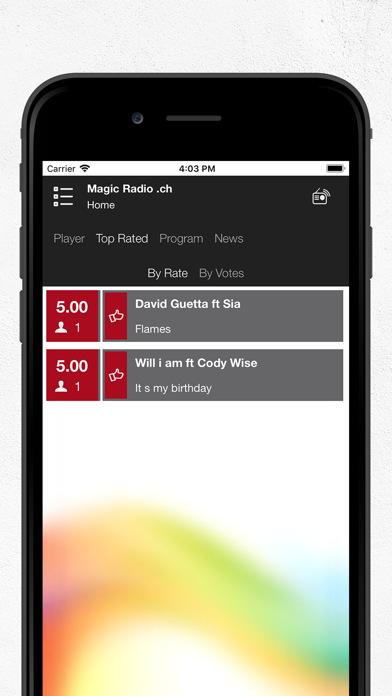 Magic Radio  ch by Nicolas Kunzi (iOS, United States