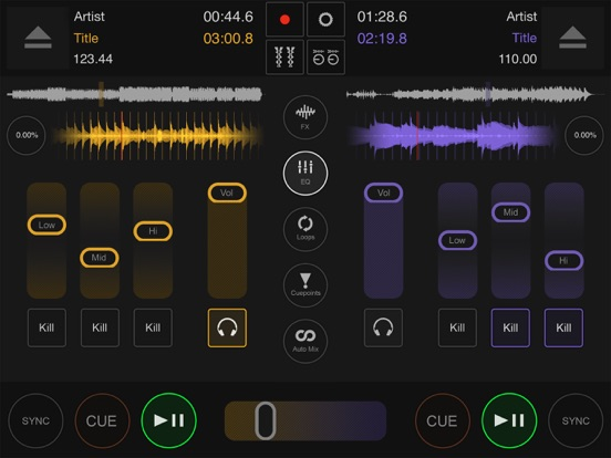 DJ DEX - The DJ Mixing App screenshot four