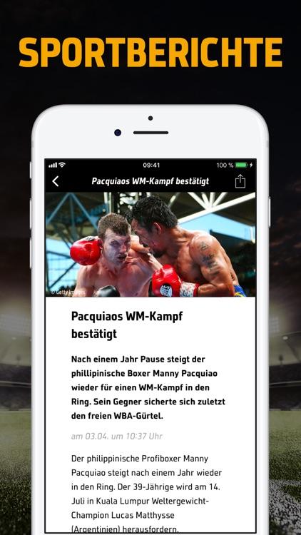 SPORT1 - News & Live Ticker screenshot-3