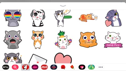 Screenshot for Angry Kitten iMessage Stickers in Poland App Store