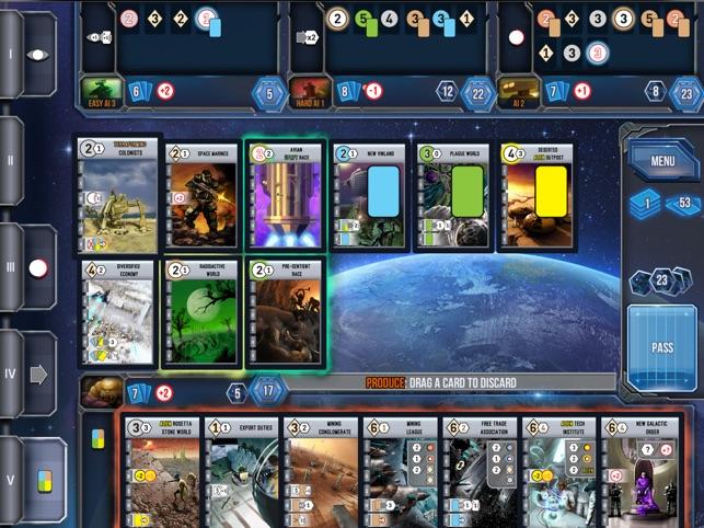 Race for the Galaxy Screenshot