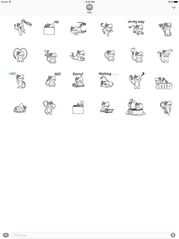 Animated Cat Catmoji Stickers screenshot 3