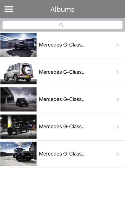 HD Car Wallpapers - Mercedes G Series Edition screenshot-3