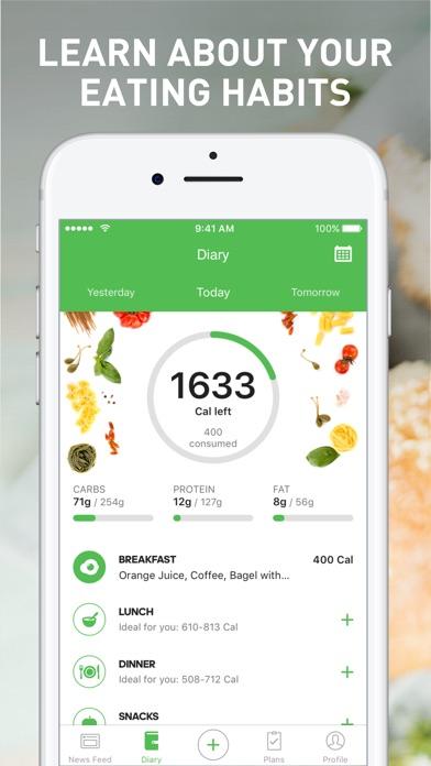 Runtastic Balance Food Tracker screenshot 1