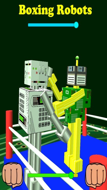 Boxing Robots Pro screenshot-0