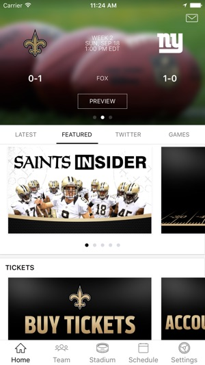 e29b5adf9d5 New Orleans Saints on the App Store