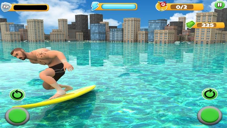 Extreme Water Surfer Flip Dive screenshot-3