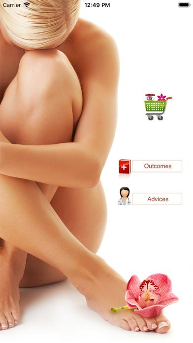 Pap Test Screenshot