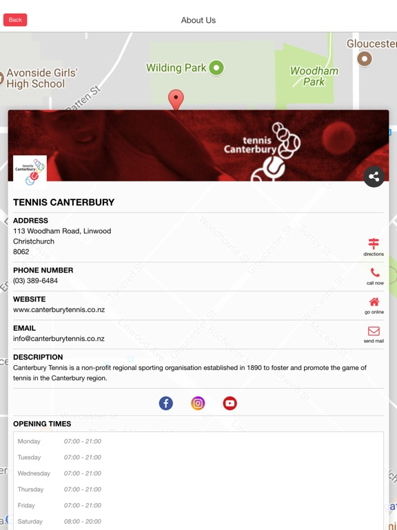 Image of Tennis Canterbury for iPad