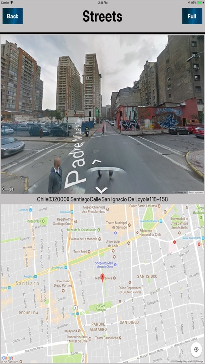 Santiago Chile Offline map screenshot-4