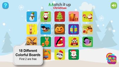 Match It Up - Christmas screenshot 2