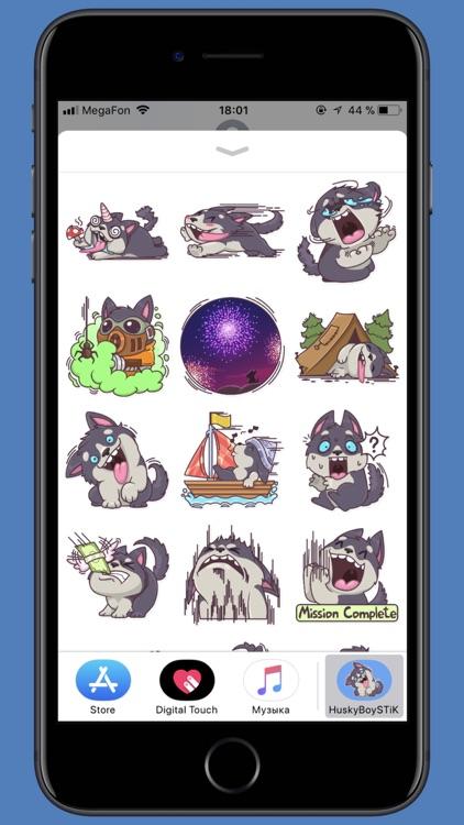 Husky Boy STiK Sticker Pack