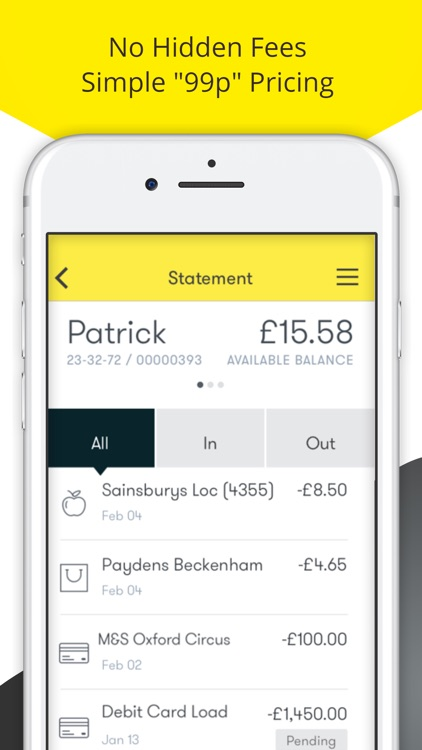 Pockit Online Current Account