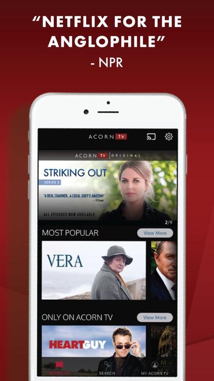 Acorn TV: The Best British TV screenshot-0