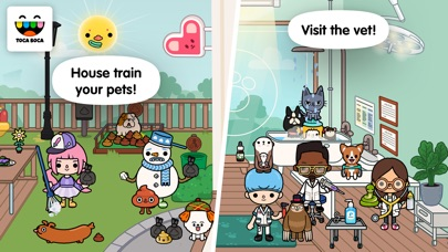 Screenshot for Toca Life: Pets in United States App Store
