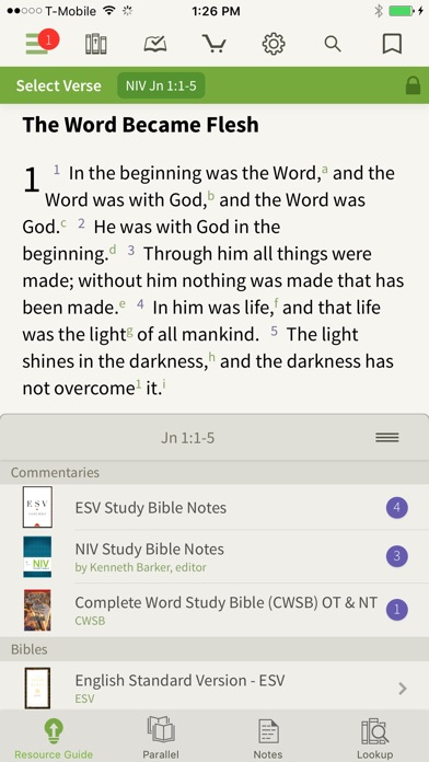 NIV Bible by Olive Tree screenshot three