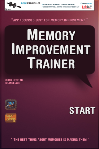 Memory Improvement Trainer - náhled
