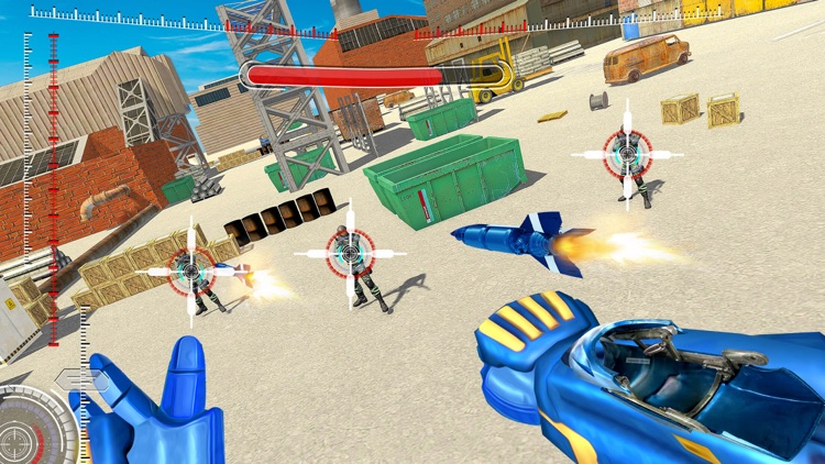 Superhero FPS Shooter Games screenshot-0