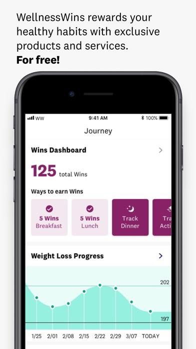WW (Weight Watchers) app image