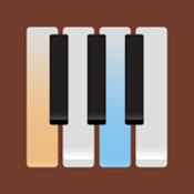 Grand Piano - Learn how to play popular songs on a full size keyboard with customizable sound and metronome icon
