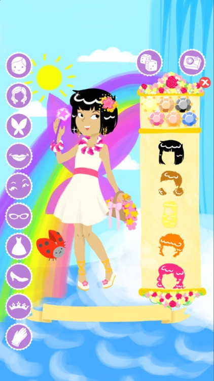Fairy Fashion Show Dress Up Gold screenshot-4
