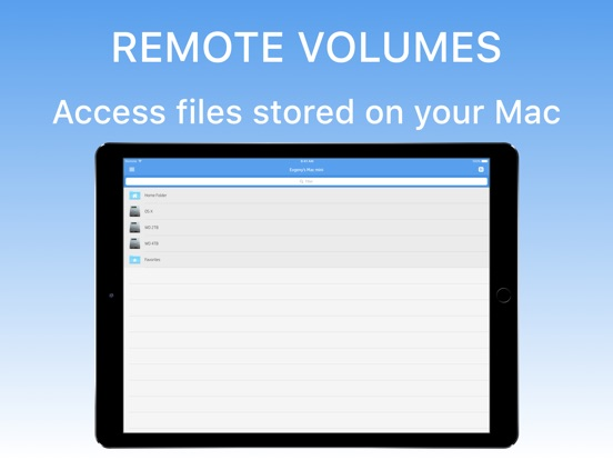 Remote Drive for Mac Screenshot