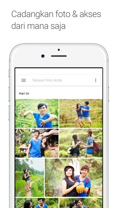 Screenshot for Google Foto in Indonesia App Store