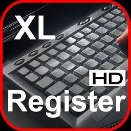 XLregisterHD
