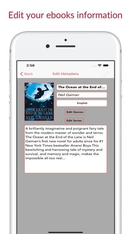 Librairie - Ebook Cloud Reader screenshot-6