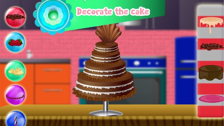 Birthday Cake Factory Chef screenshot-3