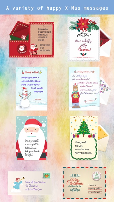 Christmas Letter with Message screenshot 2