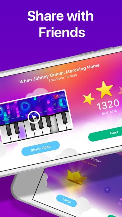 Piano Crush - Keyboard Games Screenshot on iOS