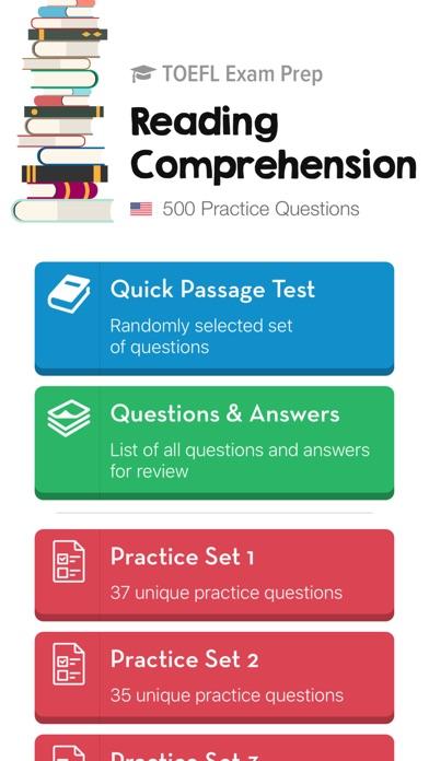 TOEFL Reading: Practice Tests