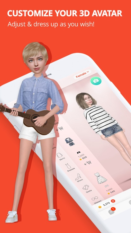 Meing - 3D Avatar & Chat