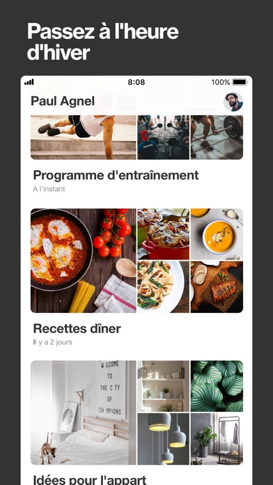Screenshot for Pinterest: Idées & Inspiration in Lebanon App Store