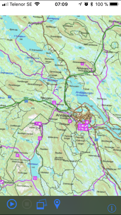 Screenshot for SkoterNavigator Norrbotten in Sweden App Store