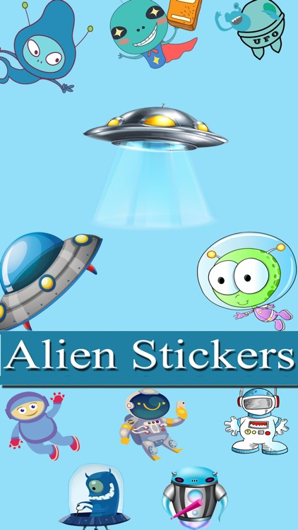 Aliens Stickers Pack