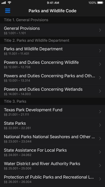 Texas Law Book screenshot-6
