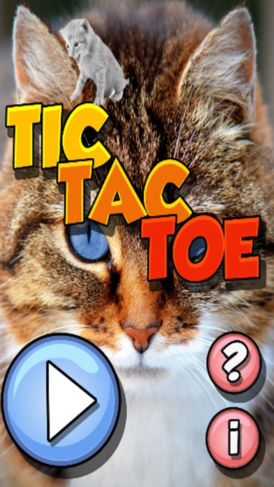 Kitty Cat Tic-TacToe (2Player) screenshot 1