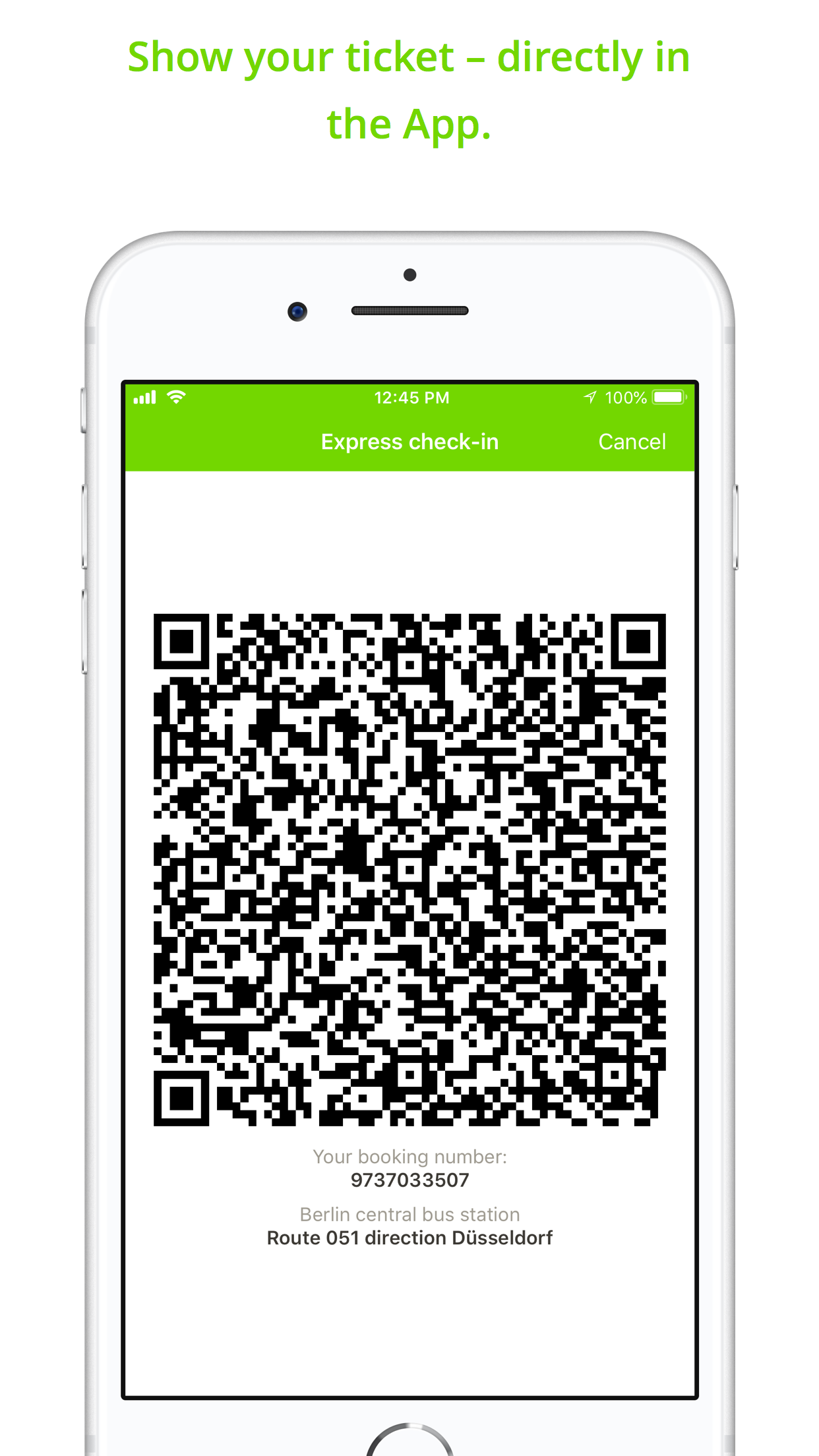 FlixBus: Smart Bus Travel Screenshot