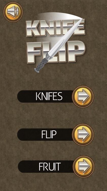 Knife Flip Throw Fruit