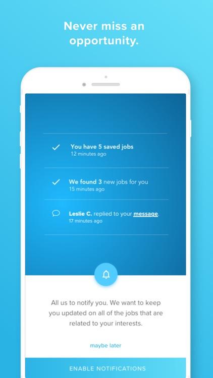 WayUp Jobs screenshot-3
