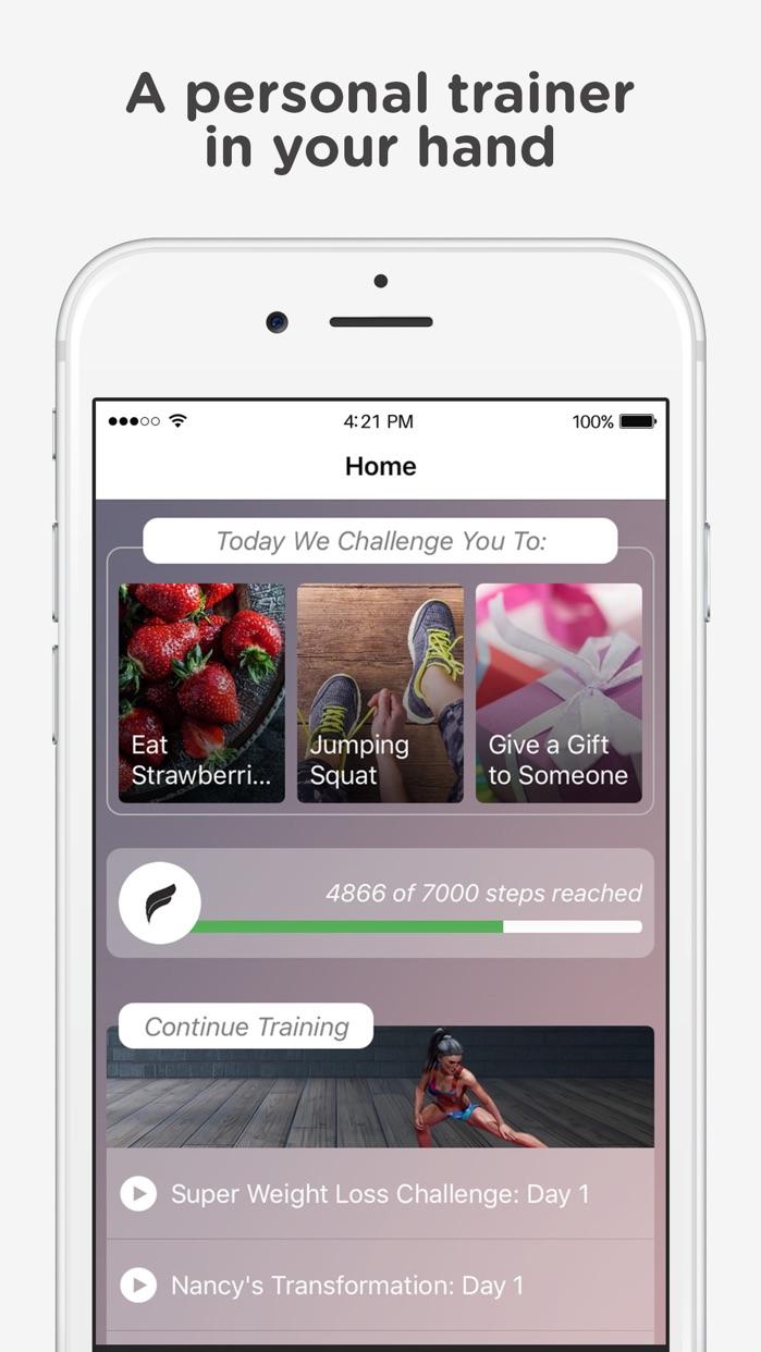 Fitonomy - Fitness Challenge Screenshot