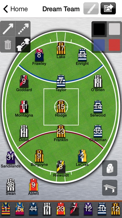 AFL Lineup 2018 screenshot-0